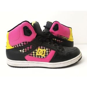 DC Shoes | Checkered High Top Shoes